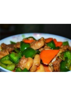 青椒炒鸡腿肉