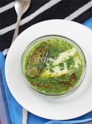 荠菜春笋汤