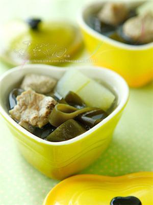 海带冬瓜排骨汤