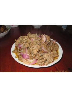 香炒孜然羊肉