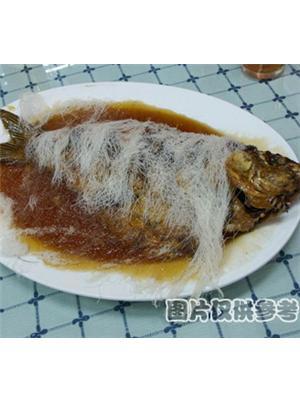 糖醋软溜鲤鱼焙面