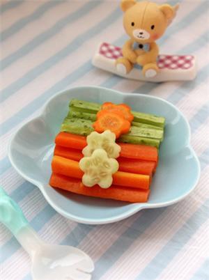 双色蔬菜条