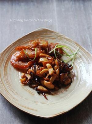 虾味油浸蘑菇