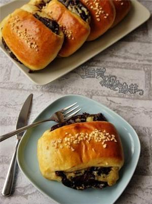榛子酱面包