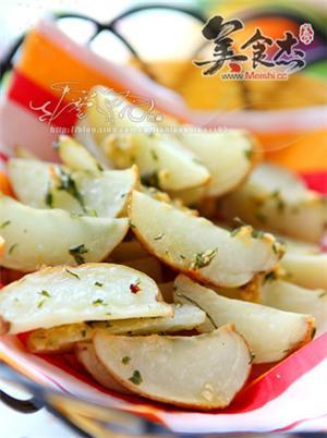 奶油蒜香烤土豆