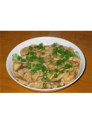 蒜香蚝油鲍菇