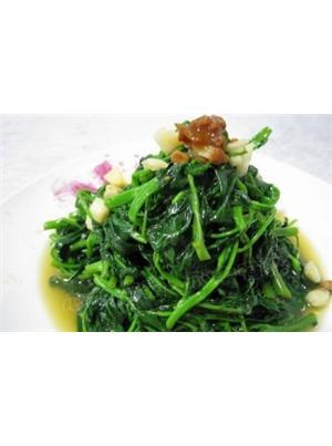 豆酱炒空心菜