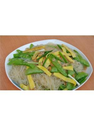 荷豆虾米拌粉丝