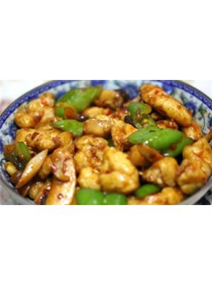 青椒鲍菇鱼块