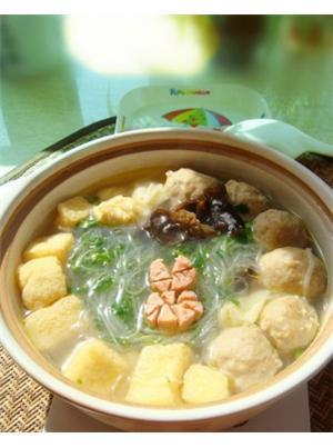贡丸粉丝汤