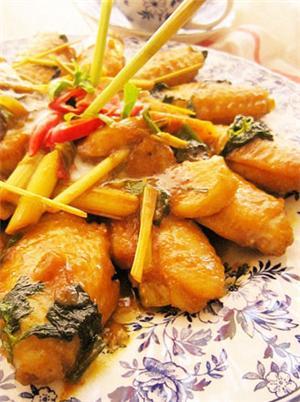 泰式咖喱鸡翅