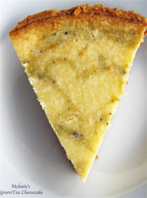 绿茶重乳酪蛋糕