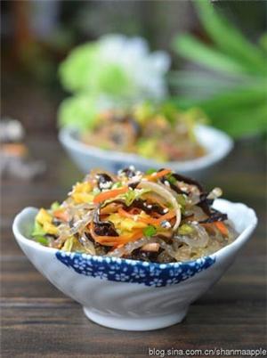 韩式拌杂菜