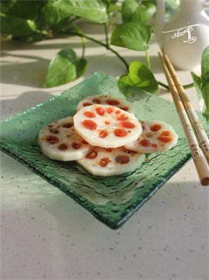 桂花山楂藕