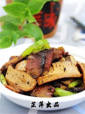 湘腊肉炒豆干