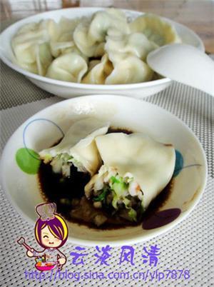 虾仁鲜蔬水饺