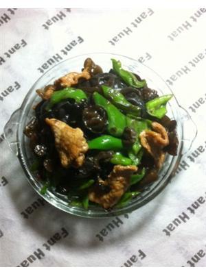 青椒木须肉