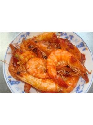 番茄炒大虾