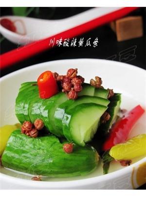 川味酸辣黄瓜条