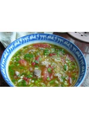 西红柿猪肉汤