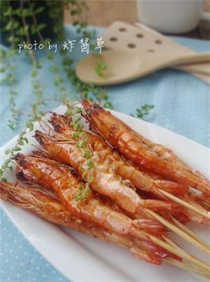 叉烧串串虾