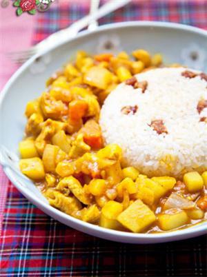 川腊咖喱鸡饭