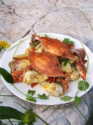 姜葱梭子蟹