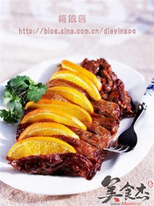 香橙烤鸭胸