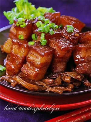 干豆角烧肉