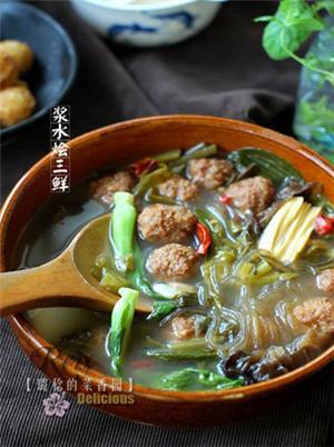 虾仁青豆莲子米