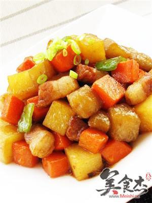 蚝油彩蔬丁